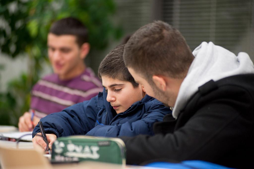 Im Gespräch mit einem Jugendlichen
