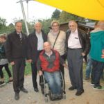 Gruppenfoto: Gäste, der Oberbürgermeister und Joachim Ritter