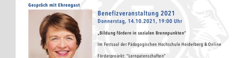 """Ankündigung des Lions Club zur Veranstaltung """"Bildung fördern in sozialen Brennpunkten"""" zugunsten der Lernpatenschaften"""